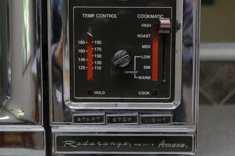 1978 Radarange Cookmatic Microwave by Amana. Vintage, Retro and Like New! Made in USA.