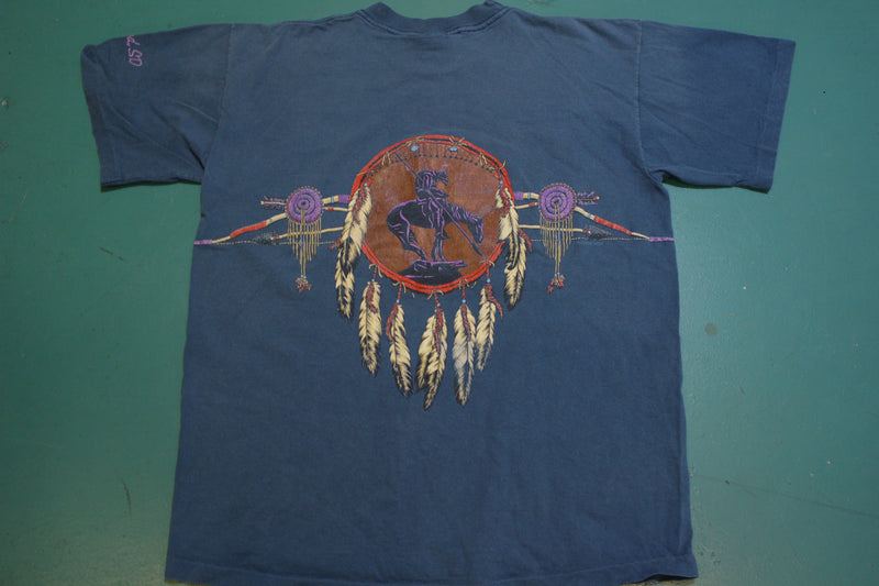 Dreamcatcher Deadwood South Dakota Habitat XCIV Vintage Single Stitch T-Shirt