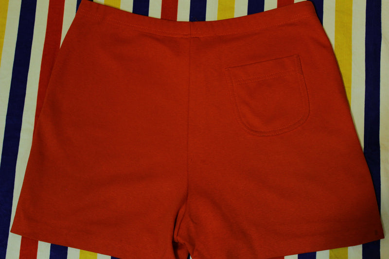 Jantzen Made In USA Red Vintage Shorts. Women's Size 2XL