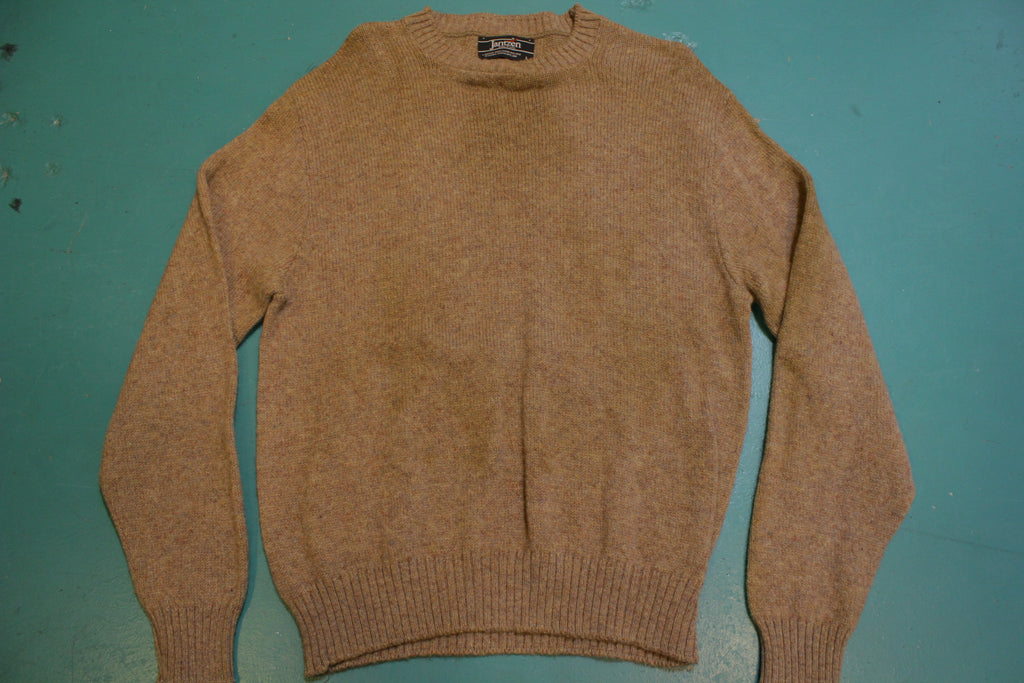 Jantzen Made in USA Wool Black Label Vintage 80's Sweater
