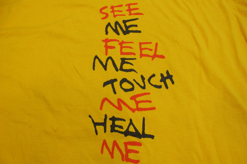 Tommy The Who Broadway See Me Feel Me Vintage 1992 90s Single Stitch T-Shirt