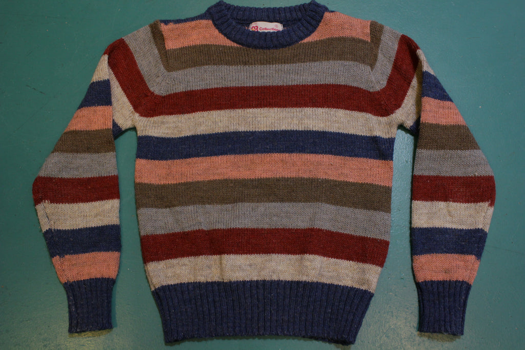 Collections Vintage Striped 80's Winter Sweater