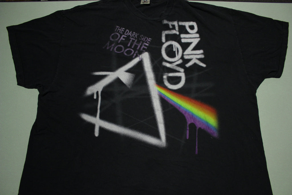 Pink Floyd Dark Side of The Moon Liquid Blue Concert T-Shirt
