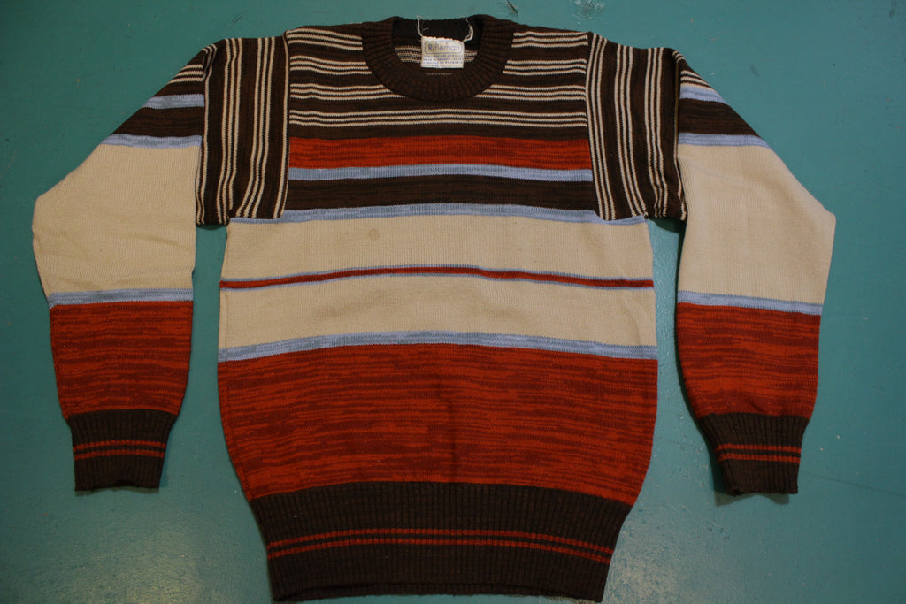Rifleman Striped 80's Winter Sweater