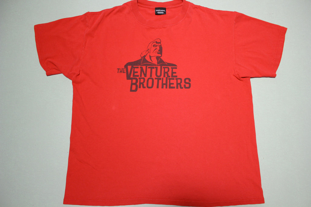 Venture Brothers Adult Swim Cartoon Network 2000's Promo T-Shirt