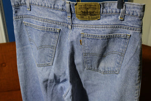 Levis Orange Tab 550 Made in USA Jeans Vintage 1980's Acid Washed