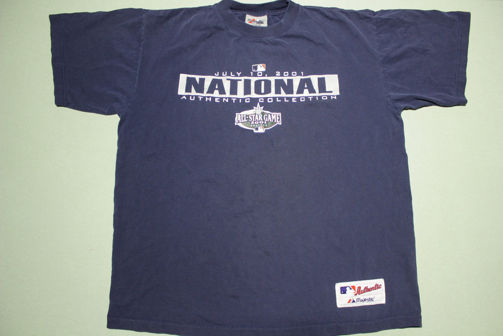 Seattle 2001 National MLB All Star Game Vintage Baseball T-Shirt