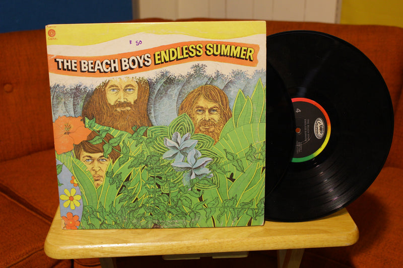 The Beach Boys Lot of 7 Vinyl Records Albums 60's and More.