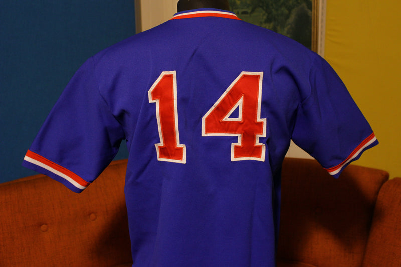 USA Olympic 1984 Jersey #14 Collegiate National Team Vintage Baseball