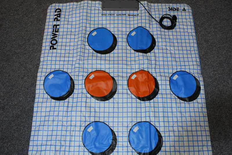 Vintage NES Nintendo Power Pad Power Mat 1988 Tested and Working.