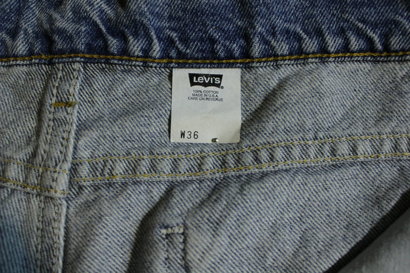 Levis Orange Tab 505 Vintage Jean Shorts. 80's USA Made.