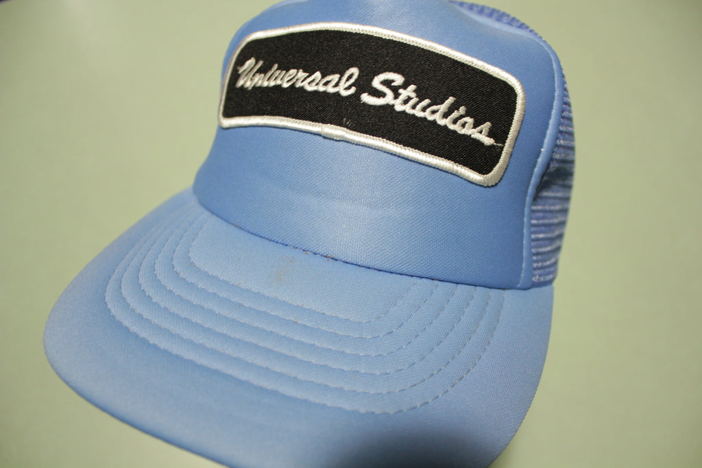 Universal Studios Patch Deadstock Vintage 80's Adjustable Back Snapback Trucker Hat