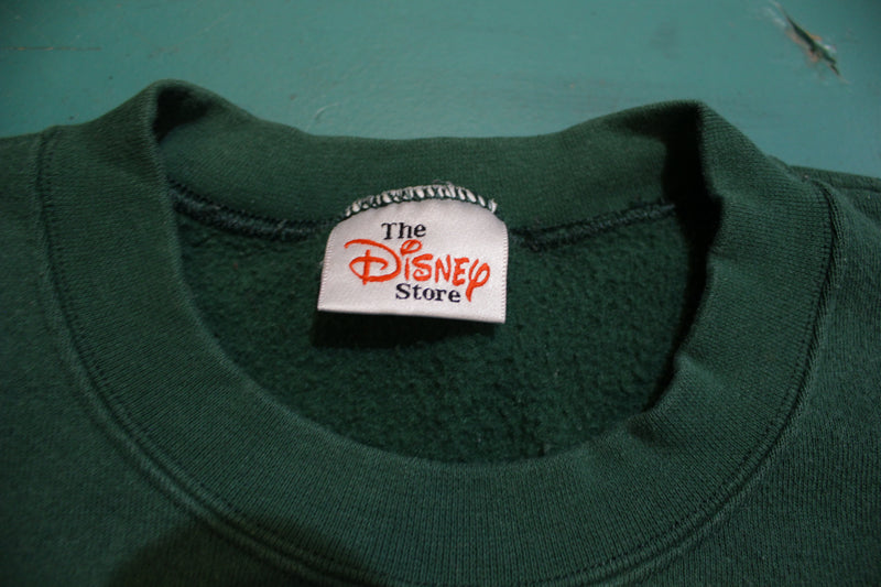 Tigger Full Of Enthusiam Disney Store Vintage 90's Crewneck Sweatshirt
