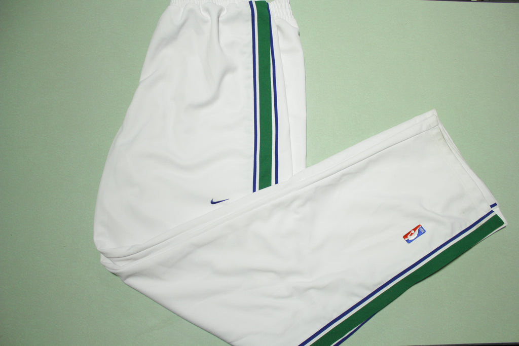 Dallas Mavericks Vintage 90s Nike Team Game Issue 1999-2000 NWOT Warm Up Pants