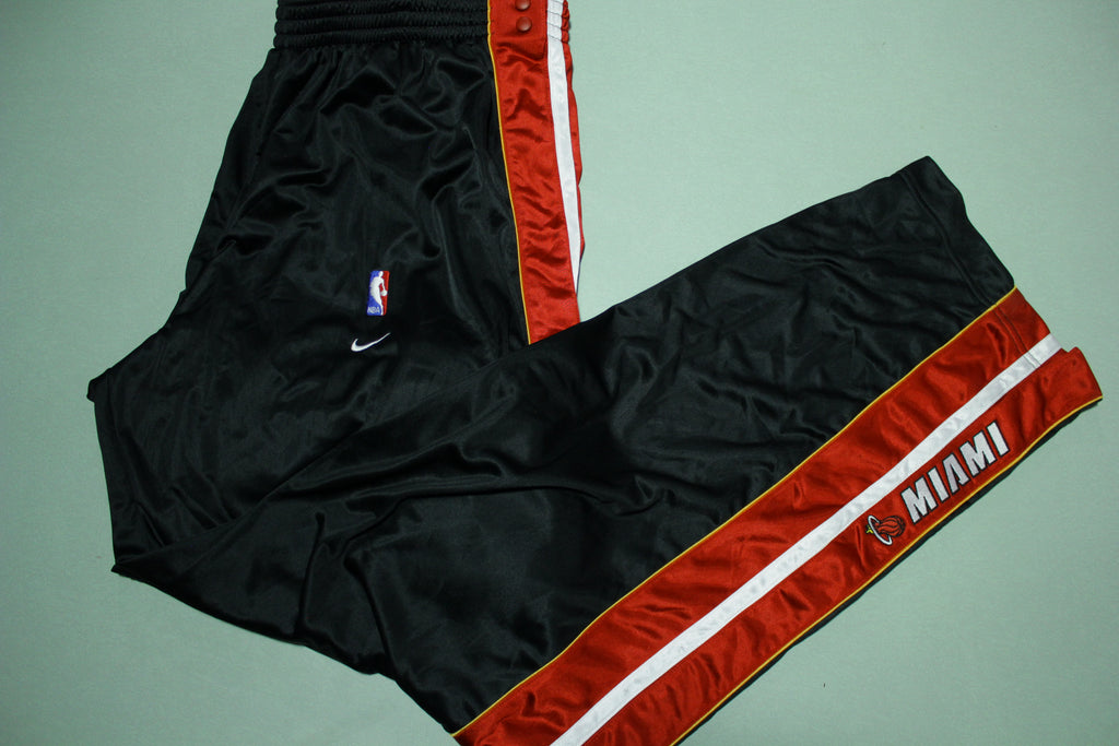 Miami Heat Vintage 90s Nike Team Game Issue 1999-2000 NWOT Warm Up Pants