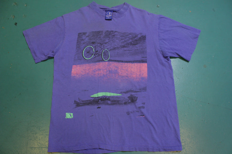 Ocean Pacific OP Vintage Single Stitch Surfing 80's T-Shirt