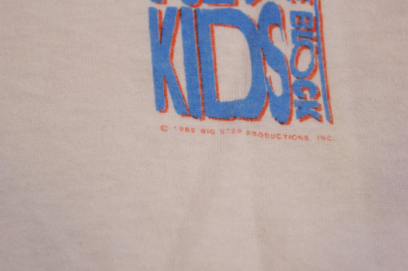 New Kids On The Block Mug Shots Vintage Deadstock 1989 Single Stitch 80's T-Shirt