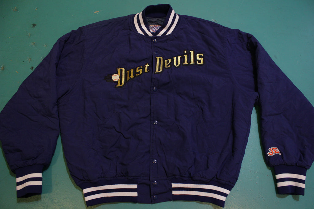 Tri-Cities Dust Devils 2001 Minor League Baseball Vintage Quilt Lined Jacket