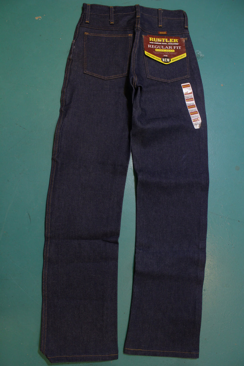 Rustler Regular Fit Boot Jeans Deadstock Vintage 80's Made in USA NWT Deadstock