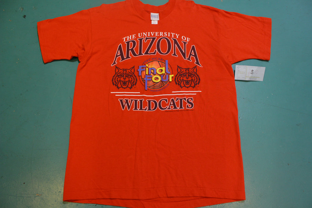 University of Arizona Wildcats NCAA 1997 Final Four Vintage 90's T-Shirt
