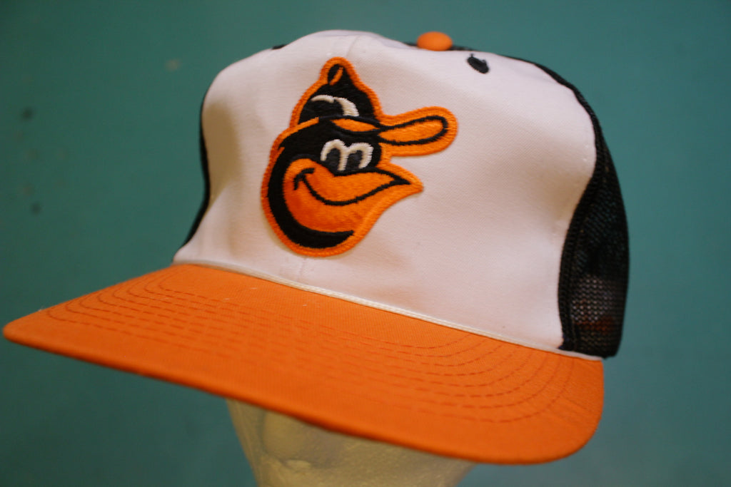 Baltimore Orioles Vintage Sports Specialties Deadstock Snapback 80's Baseball Cap Hat