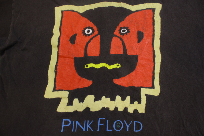 Pink Floyd Brockum 1994 Division Bell Vintage Single Stitch Black Concert T-Shirt