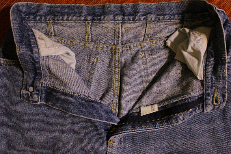 Faded Lee Jeans 1980's Made In USA 34 High Waisted Mom. Women's 28 x 29