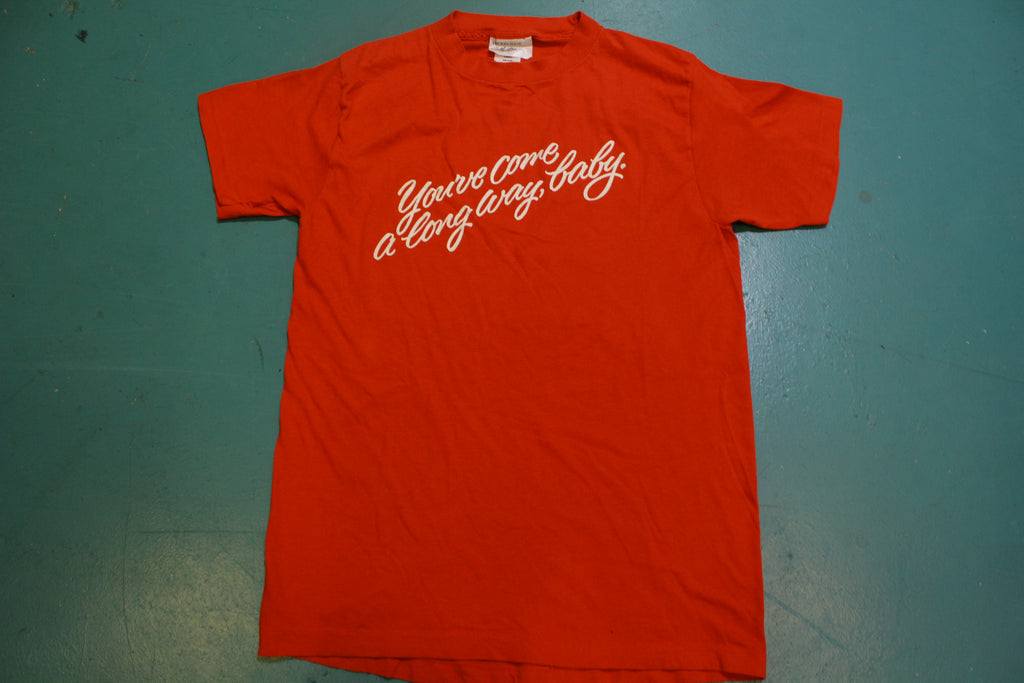 You've Come Along Way Baby Virginia Slims 80's Cigarette Vintage Single Stitch T-Shirt