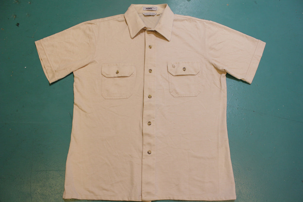 Christian Dior Chemises Vintage Button Up Two Pocket 90s Shirt