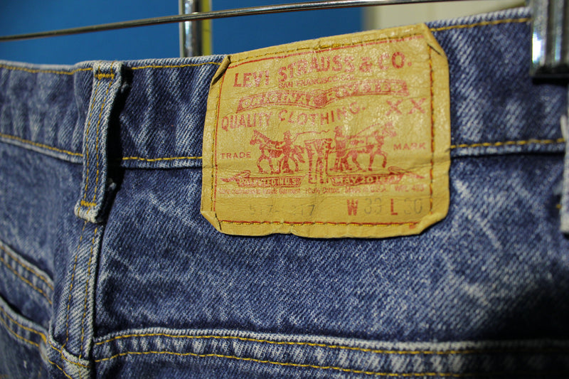Levis XX Red Tab 517 Vintage 1986 Jeans Made in USA Men's 31 x 28