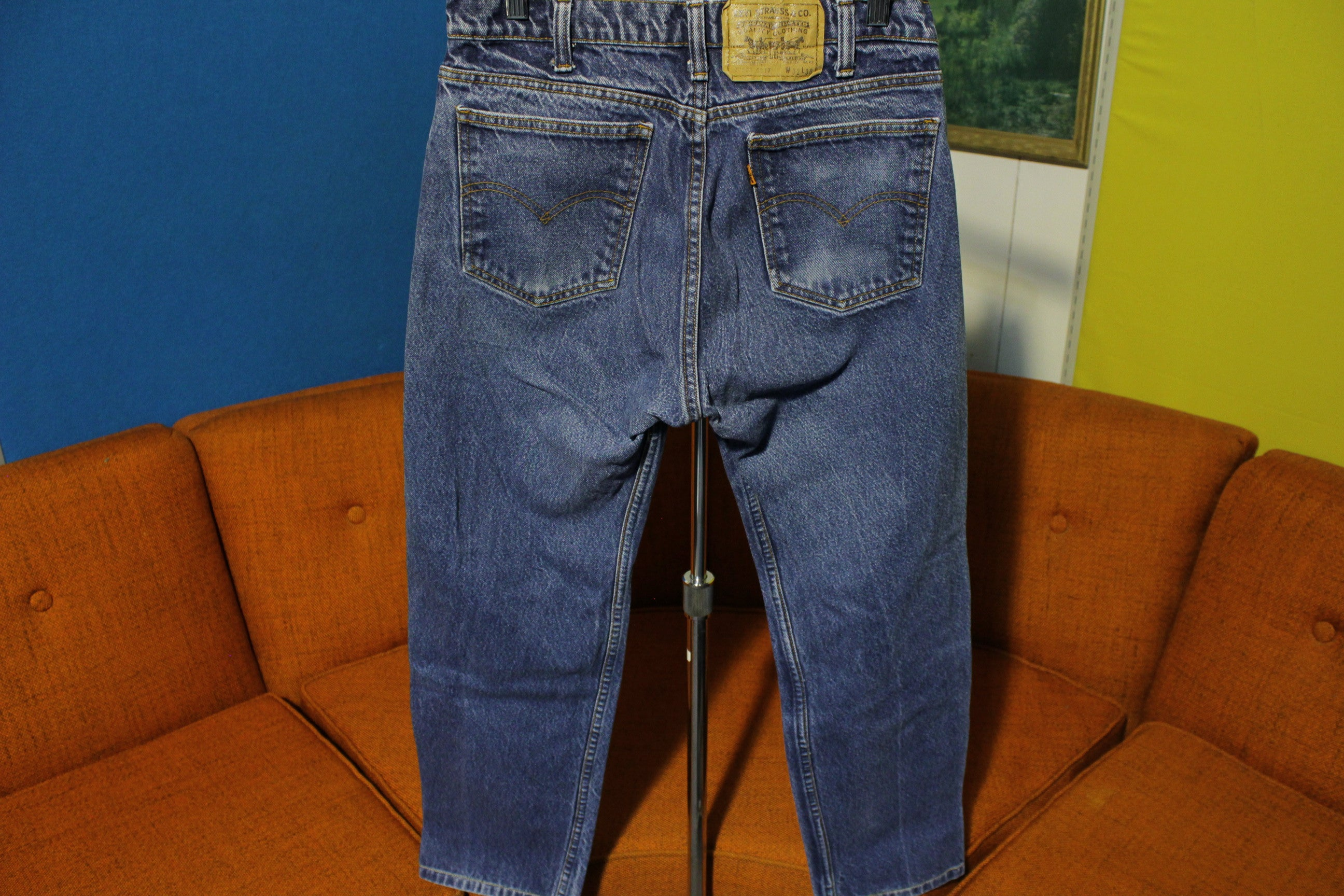 Levis Orange Tab 20505 0217 Vintage 1980's Jeans Made in USA Men's 29 x 28
