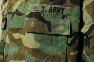 Woodland Camo BDU Hot Weather Coat 91st Infantry Division Regular US Army