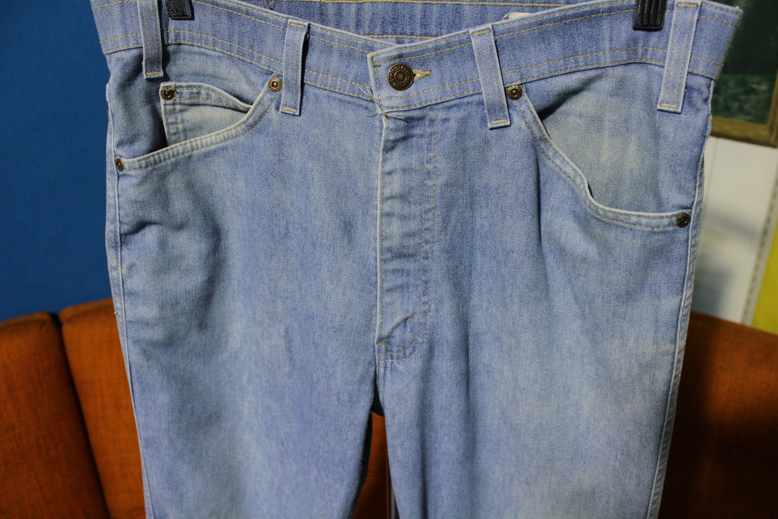 Levis Action Jeans Denim Vintage 1980's Pants Made in USA  32x30