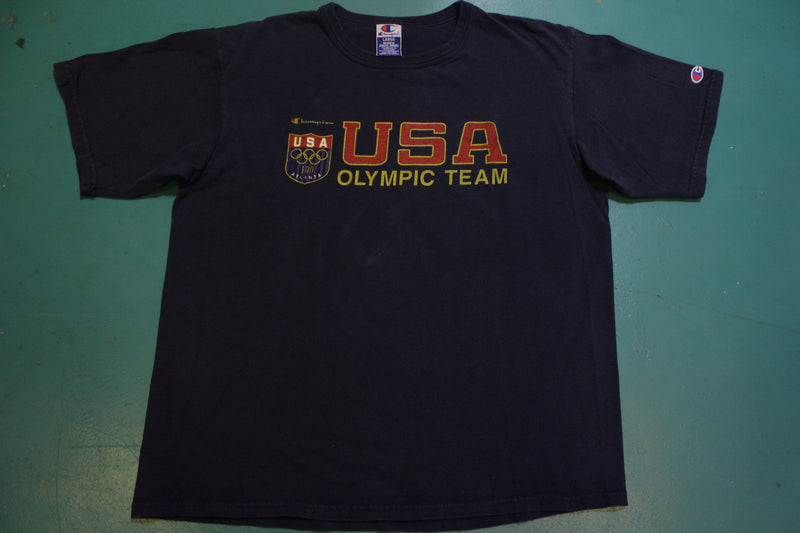 Atlanta 1996 USA Olympic Team Champion Authentic Vintage 90's T-Shirt