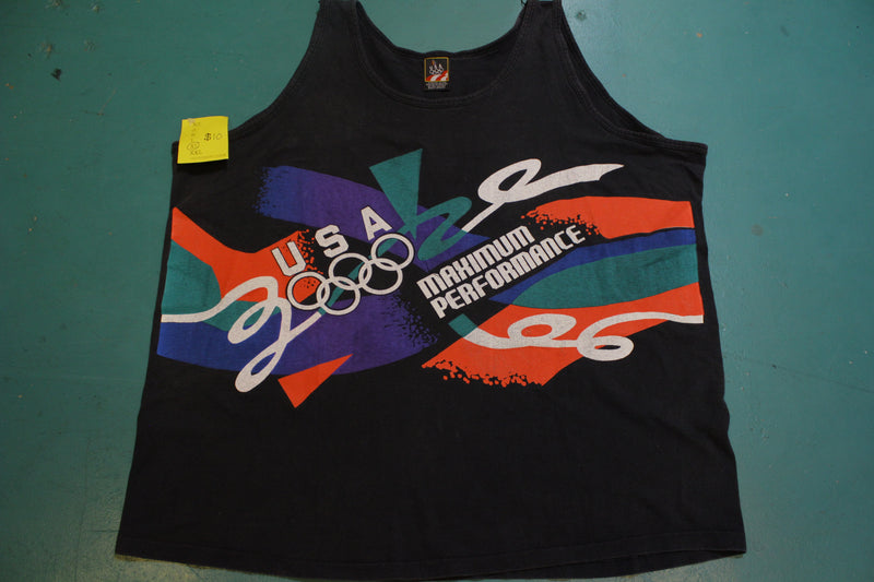 USA 1996 Maximum Performance JCPenney Olympic 90s Tank Top