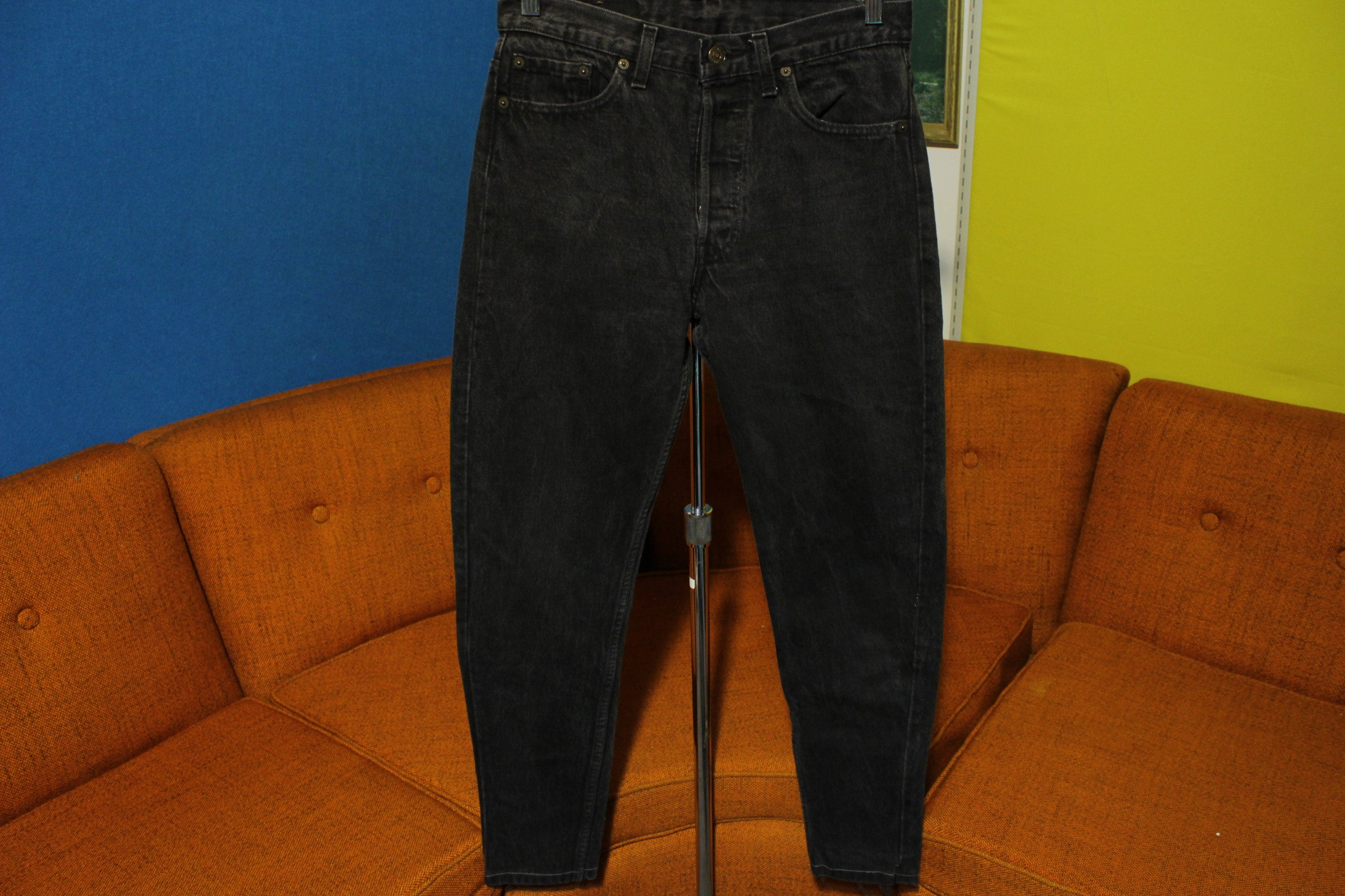 3392ce8d Women's 80s Levis 501 Button Fly Skinny Jeans. Vintage, Made in USA 501  29x30