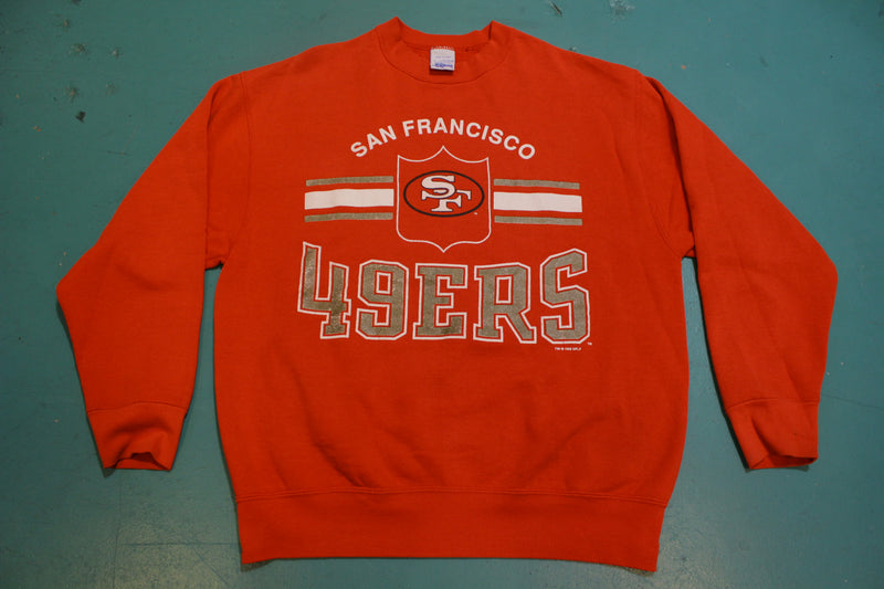 San Francisco 49ers Vintage USA Made 1995 90s' Salem Sportswear Sweatshirt