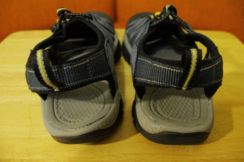 Keen Newport H2 Hiking Water Outdoor Sandal Strap Shoes Navy Gray Mens Size 7