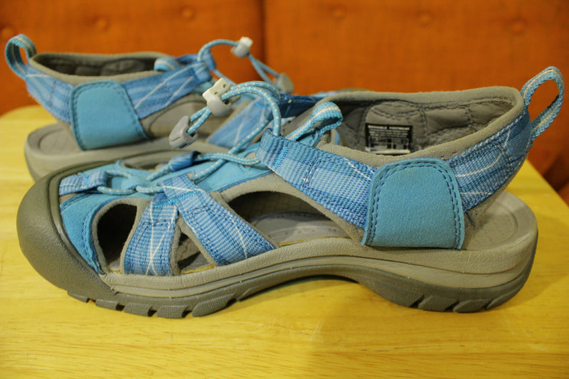 Keen Newport H2 Hiking Water Outdoor Sandal Strap Shoes Women's Blue Size 8