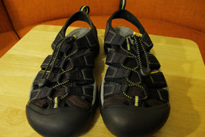 Keen Newport H2 Hiking Water Outdoor Sandal Strap Shoes Men's Black Size 9.5