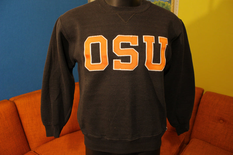 Oregon State University Beavers Vintage OSU 80's Russell Athletic Sweatshirt USA