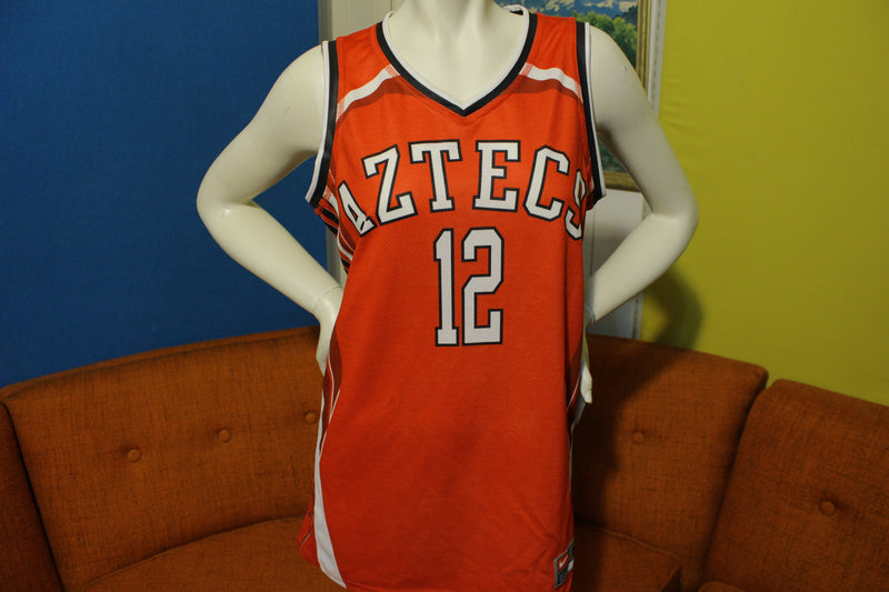 San Diego Aztecs NWT Women's Basketball Jersey #12 Red Nike Medium
