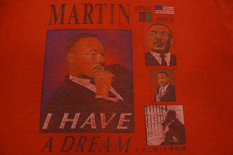 Martin Luther King MLK I Have A Dream Vintage 80's Screen Stars Single Stitch T-Shirt