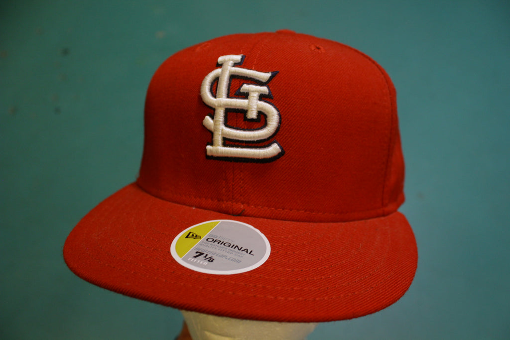 St. Louis Cardinals New Era 59 Fifty  Pro Back Baseball Cap Hat Size 7 1/8