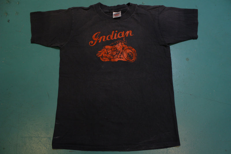 Indian Motorcycles Vintage 80's Single Stitch USA T-Shirt