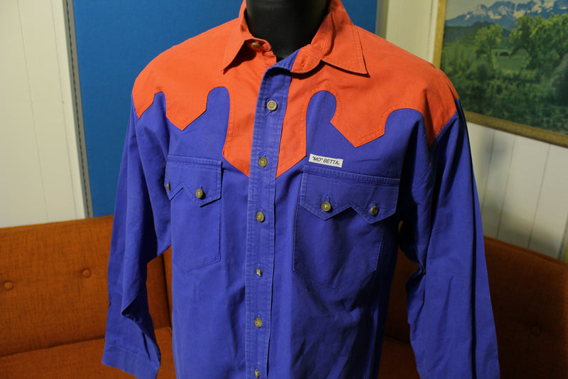 Mo Betta Sevens Long Sleeve Vintage 90's Garth Brooks Rodeo Button Up Shirt