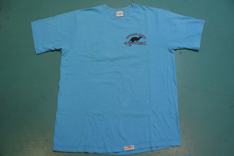 Outback Jacks Outfitters Vintage Crazy Shirts 80's Single Stitch T-Shirt