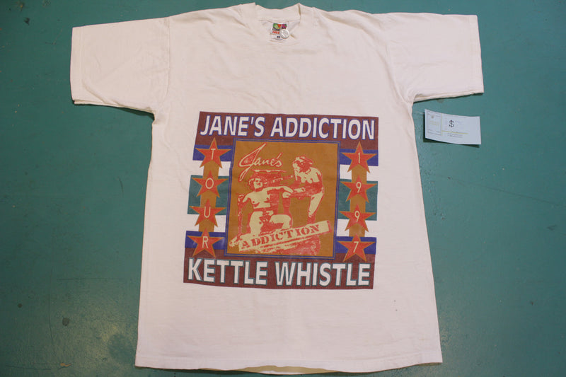 Jane's Addiction Kettle Whistle 1997 New York Chicago Vintage 90s Tour T-Shirt