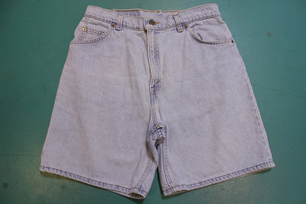 Levis 36951 Vintage 90's Blue Denim Jean Shorts