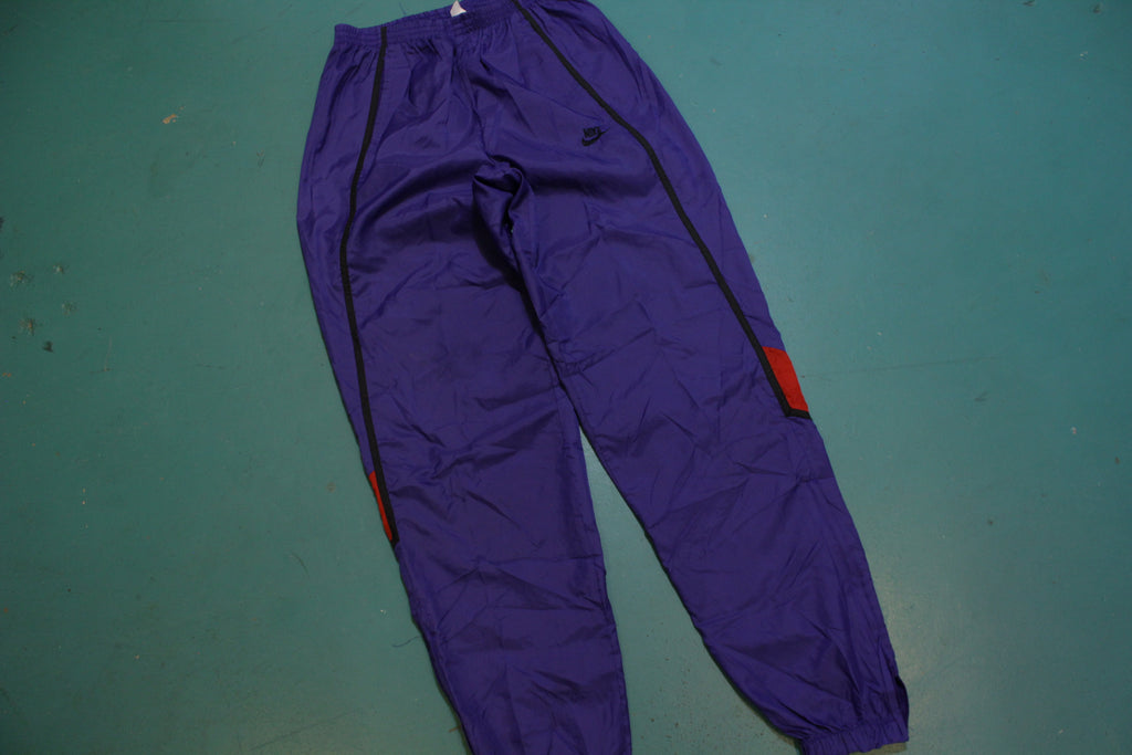 Nike Vintage Gray Tag 90's Track Jogging Windbreaker Pants